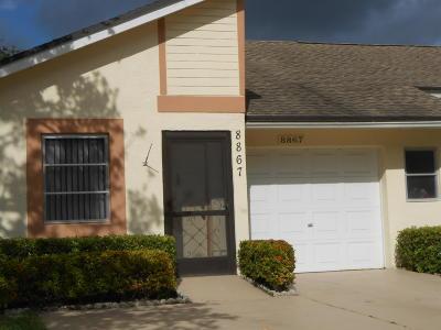 Boca Raton Single Family Home For Sale: 8867 Sunscape Lane #C