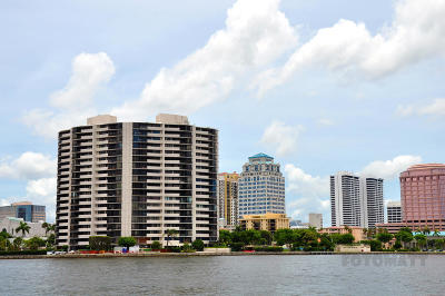 West Palm Beach Condo For Sale: 1200 S Flagler Drive #1705