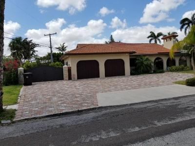 West Palm Beach Single Family Home For Sale: 6205 Washington Road