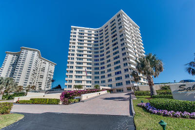 Sabal Shores, Sabal Shores Apts Condo, Sabal Shores Condo Condo For Sale: 600 S Ocean Boulevard #1406