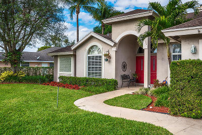 Boynton Beach Single Family Home For Sale: 4259 Fox Trace