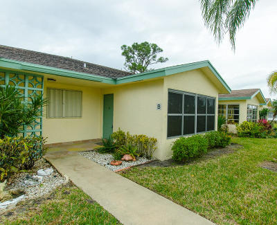 delray beach Single Family Home Contingent: 5253 Lakefront Boulevard #B
