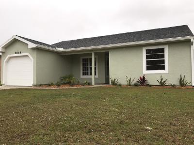 Port Saint Lucie Single Family Home For Sale: 2019 SE West Dunbrooke Circle