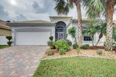 Delray Beach Single Family Home Contingent: 7542 Charing Cross Lane