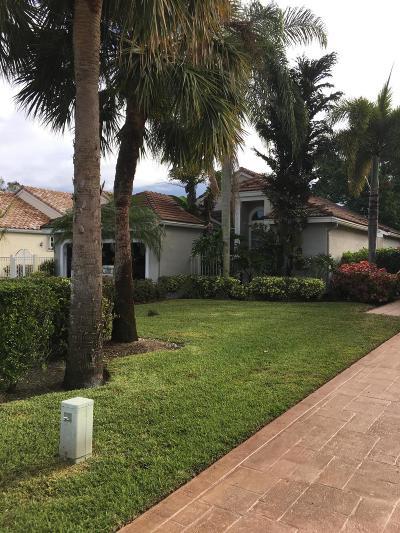 Palm Beach Gardens Single Family Home For Sale: 6866 Briarlake Circle