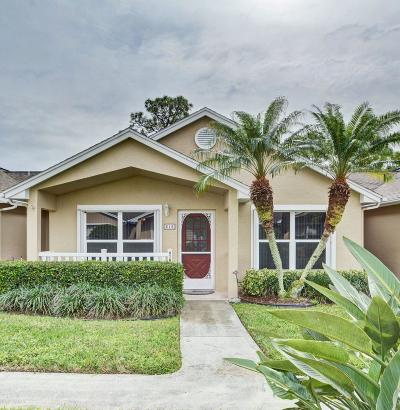 Port Saint Lucie Single Family Home For Sale: 618 NW San Remo Circle