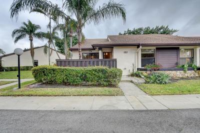 Boca Raton Single Family Home For Sale: 8478 Boca Glades Boulevard E