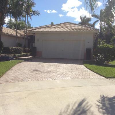 Boynton Beach Single Family Home For Sale: 9831 Crescent View Drive S