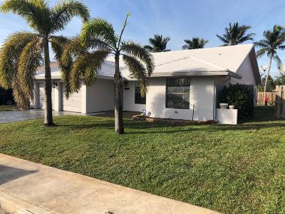 Lake Worth Single Family Home For Sale: 1764 22nd Avenue