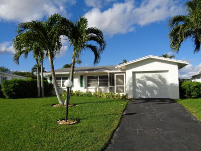 Delray Beach Single Family Home For Sale: 14315 Amapola Drive