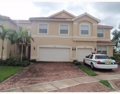 Royal Palm Beach Townhouse For Sale: 11492 Silk Carnation Way #C