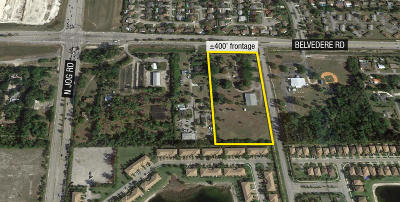 West Palm Beach Residential Lots & Land For Sale: 6288 Belvedere Road