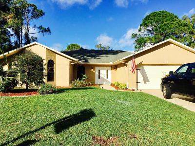 Port Saint Lucie, Saint Lucie West Single Family Home For Sale: 111 SW Chapman Avenue