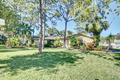 Jupiter Single Family Home For Sale: 18059 Woodside Trail