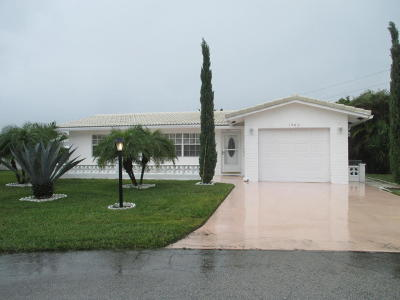 Boynton Beach, Gulf Stream Single Family Home For Sale: 1503 SW 20th Street