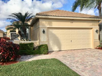Delray Beach Single Family Home Contingent: 7100 Cataluna Circle