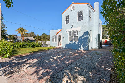 West Palm Beach Single Family Home For Sale: 843 Upland Road