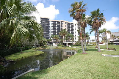 Highland Beach Condo For Sale: 3420 S Ocean Boulevard #5s