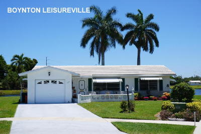Boynton Beach, Gulf Stream Single Family Home For Sale: 1389 SW 17th Avenue