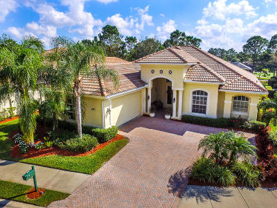 Port Saint Lucie Single Family Home For Sale: 9417 Briarcliff Trace