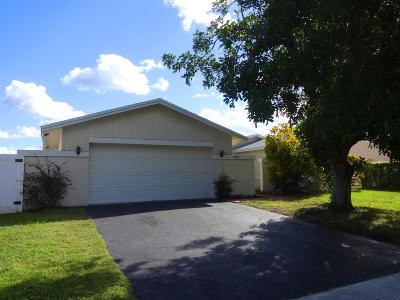 Boca Raton Single Family Home For Sale: 9080 Saddlecreek Drive