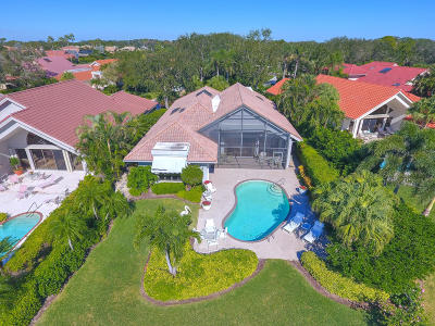 Palm Beach Gardens Single Family Home For Sale: 13637 Rivoli Drive