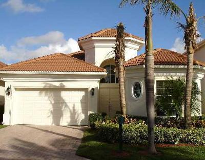 west palm Single Family Home For Sale: 8448 Legend Club Drive