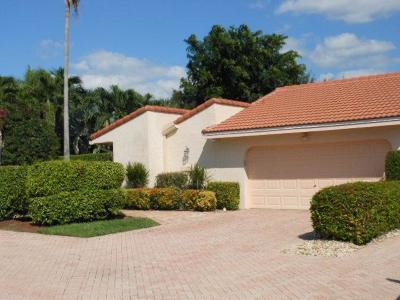 Boca Raton Single Family Home For Sale: 7332 Woodmont Court