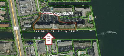 North Palm Beach Condo For Sale: 108 Paradise Harbour Boulevard #408