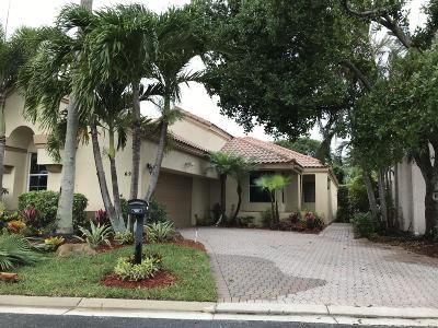 Boynton Beach Single Family Home For Sale: 6201 Evian Place