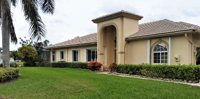 west palm Single Family Home For Sale: 9119 Bay Point Circle