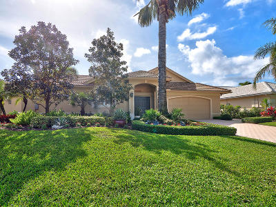 Palm Beach Gardens Single Family Home For Sale: 32 Bermuda Lake Drive