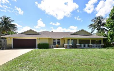 Boynton Beach Single Family Home Contingent: 4171 Juniper Terrace