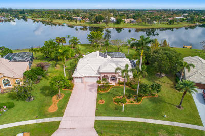 Lake Worth Single Family Home For Sale: 9670 Eagle Point Lane