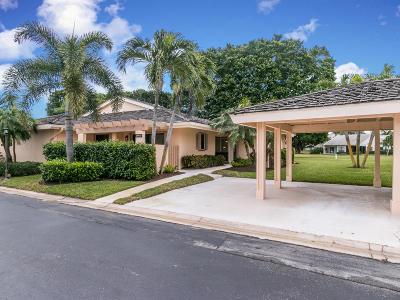 Jupiter Single Family Home For Sale: 3672 Freshwater Drive