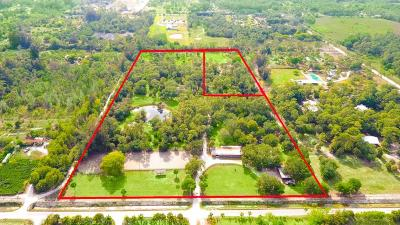 Loxahatchee Residential Lots & Land For Sale: 2833 F Road
