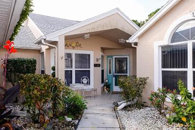 Port Saint Lucie Single Family Home Contingent: 1187 NW Lombardy Drive