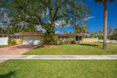 Boca Raton Single Family Home For Sale: 701 W Royal Palm Road