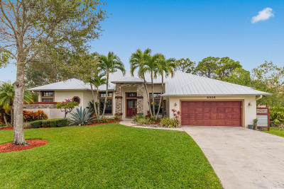 Palm City Single Family Home Contingent: 2306 SW Hunters Club Way