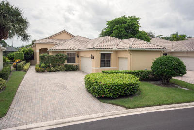 Lake Worth, Lakeworth Single Family Home For Sale: 10154 Dover Carriage