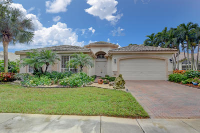 Boynton Beach Single Family Home For Sale: 11530 Pamplona Boulevard