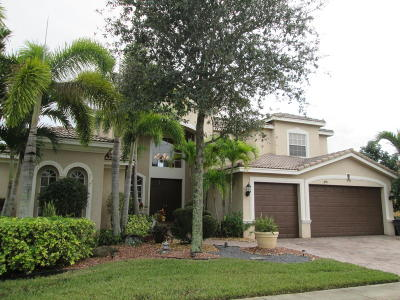 Lake Worth Single Family Home For Sale: 9898 Via Bernini