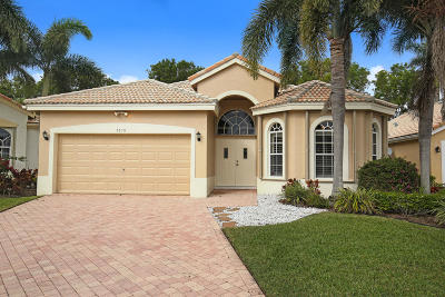 Delray Beach Single Family Home For Sale: 7676 Eagle Point Drive