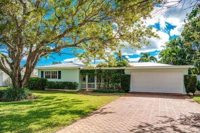Delray Beach Single Family Home Contingent: 112 Heather Lane