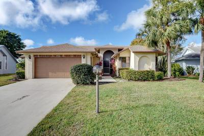 Delray Beach Single Family Home For Sale: 16655 Boca Delray Drive