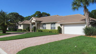 Port Saint Lucie Single Family Home For Sale: 9312 Avenel Lane