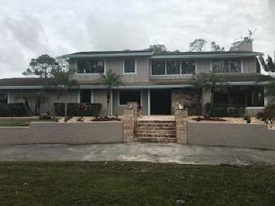 Lake Worth Single Family Home For Sale: 5446 Reynolds Road