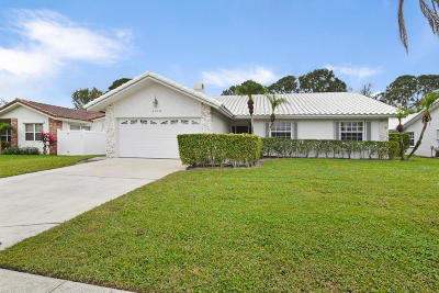 Boca Raton Single Family Home For Sale: 6306 Woodbury Road