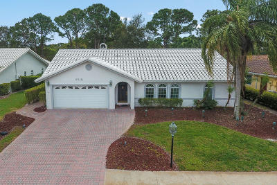 Boca Raton Single Family Home For Sale: 6318 Woodbury Road