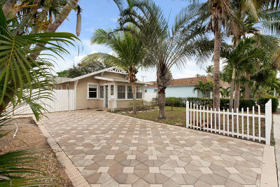 Lake Worth, Lakeworth Single Family Home For Sale: 28 Ocean Breeze